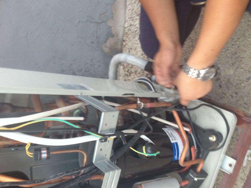 空調拆機檢測