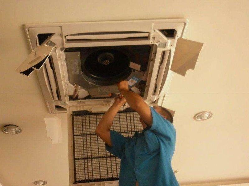 天花機空調清洗保養
