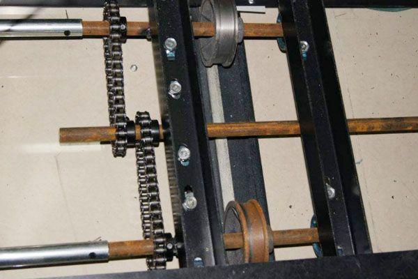 密集柜轴承出问题坏了维修