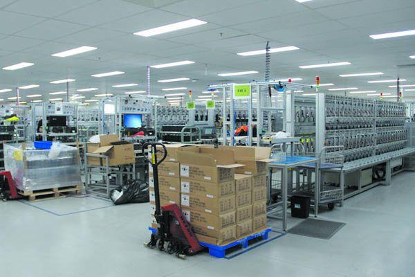 澳洲LG工厂格宁装置产品安装