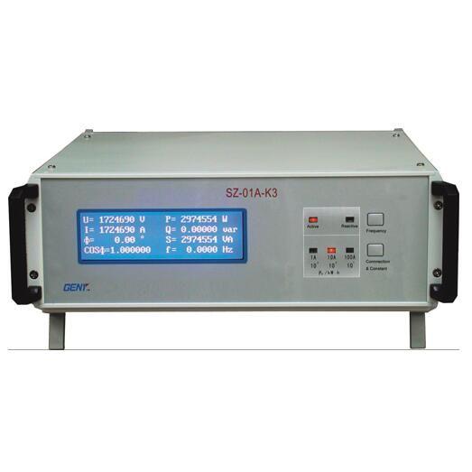 SZ-01A-K3单相多功能标准电能表