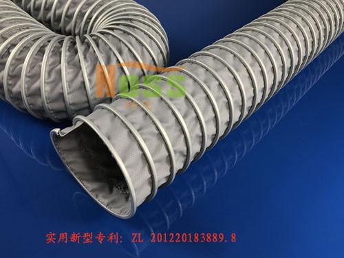 耐600℃(WH00398软管)高温伸缩风管