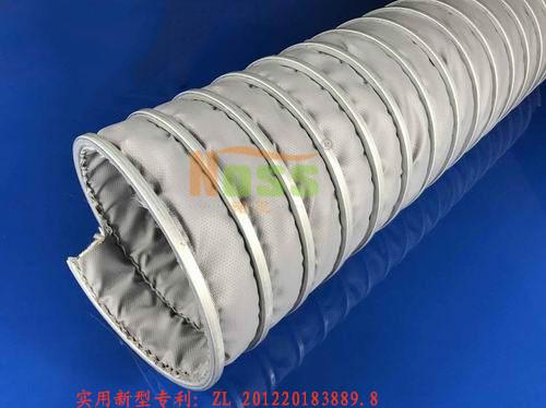 高温排气管耐500°C双层加强WH00488软管
