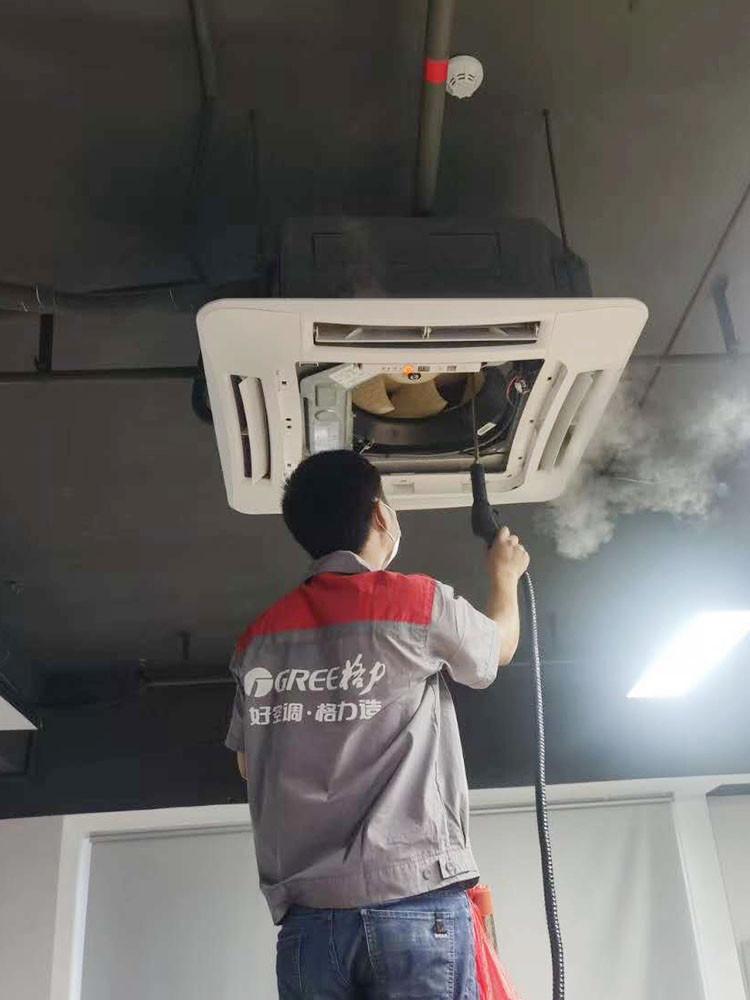 中央空调内机高温蒸汽消毒中