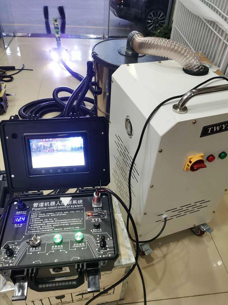 中央空调风管清洗机器人组合