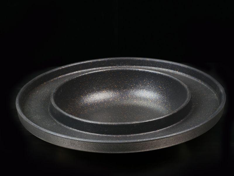 韩式涮烤二用盘(双食盘)