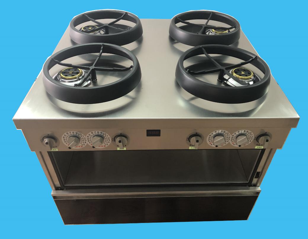 商用款  节能版(四炉四转) 自动烹饪机 2001#