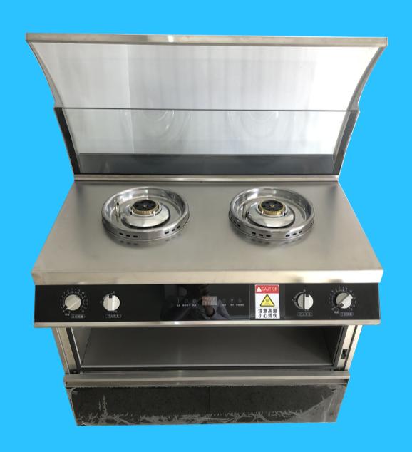 商用款  节能版(双炉双转) 自动烹饪机  1906#
