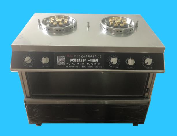 商用款  加强版(双炉五转) 自动烹饪机  1908#