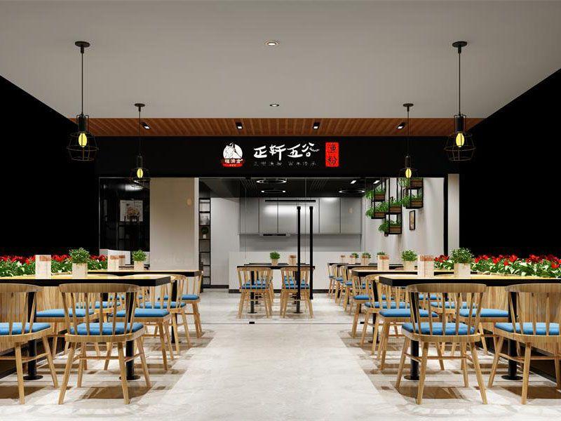 中式餐廳裝修