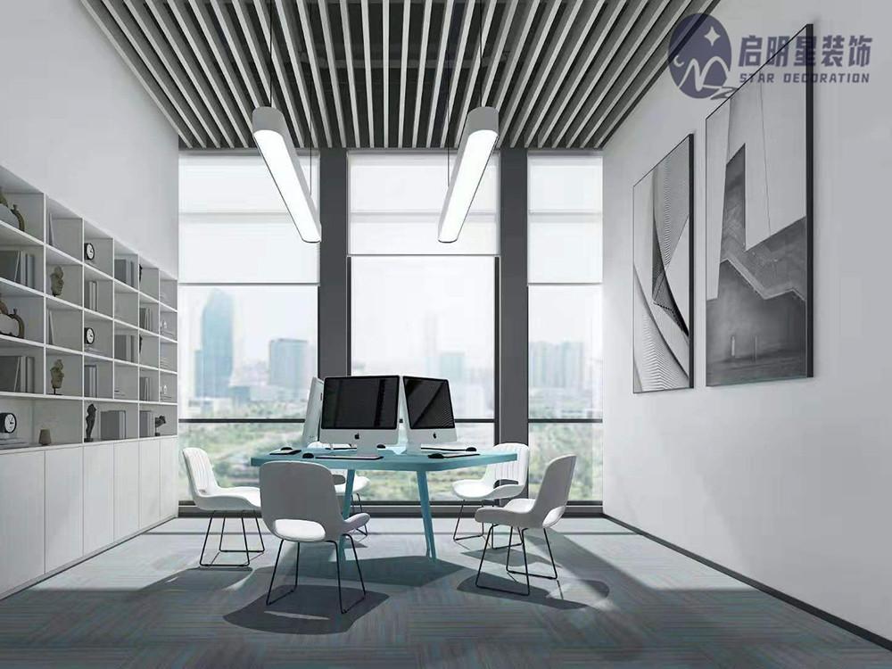 广州CBD科技公司办公室设计装修