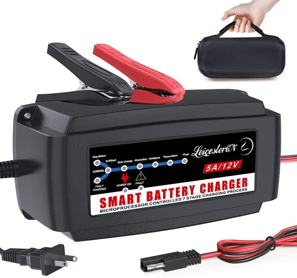 LST 12V 5A Automatic Battery Charger