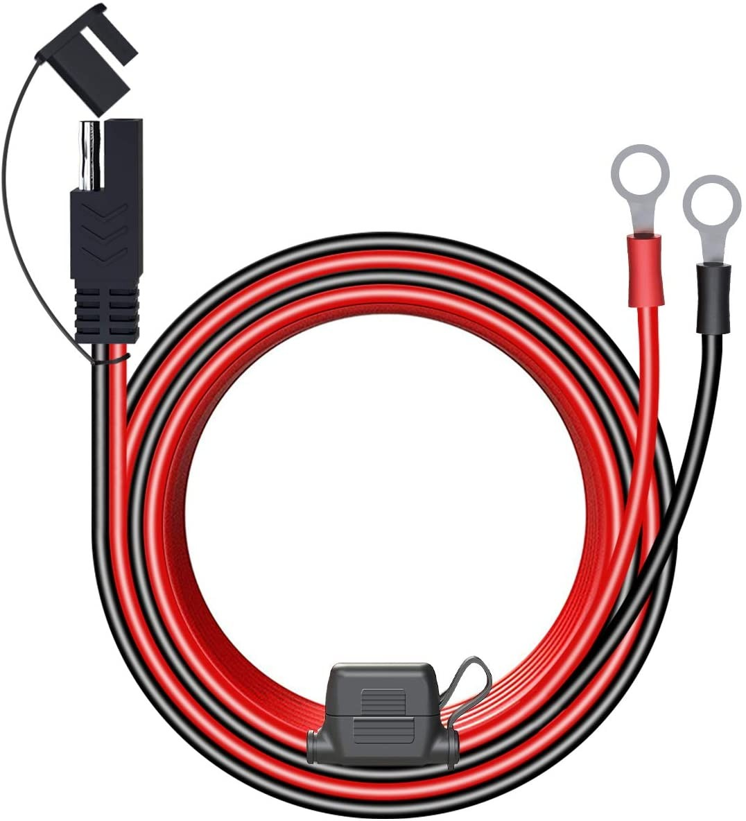 LST 4FT 12V Ring Connecters Extension Cord Cable