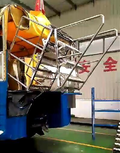 电动折叠登车梯