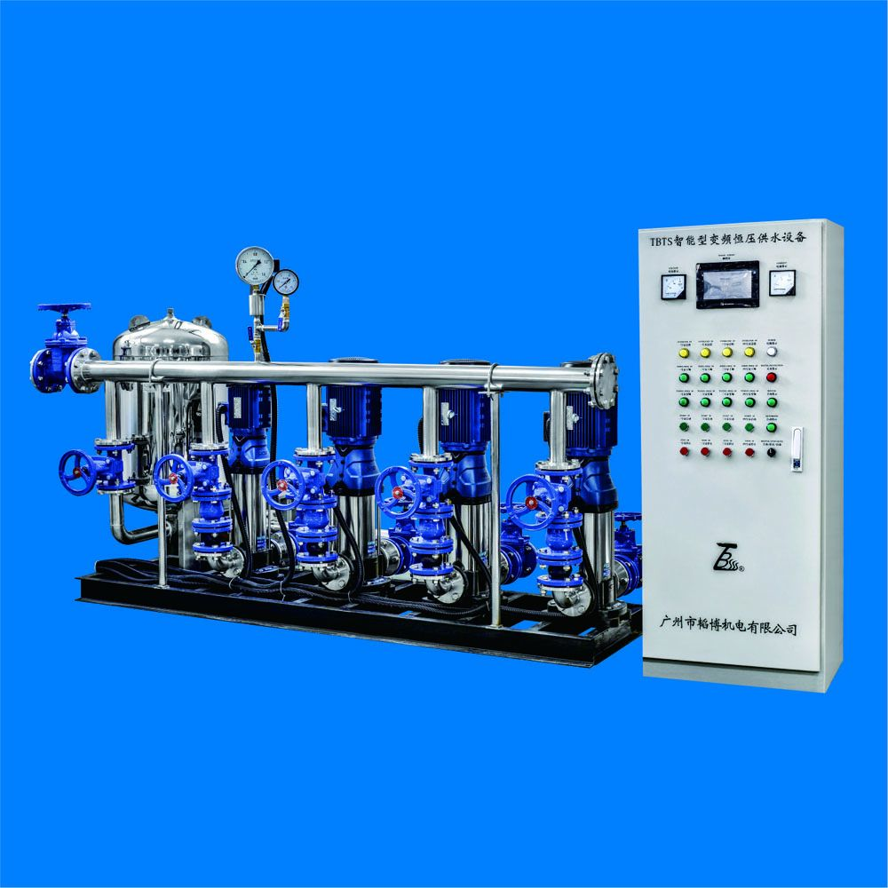 TBTS Variable-frequency speed-control constant-pressure water supply equipment