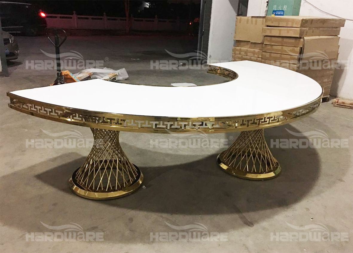 half moon table,hardware