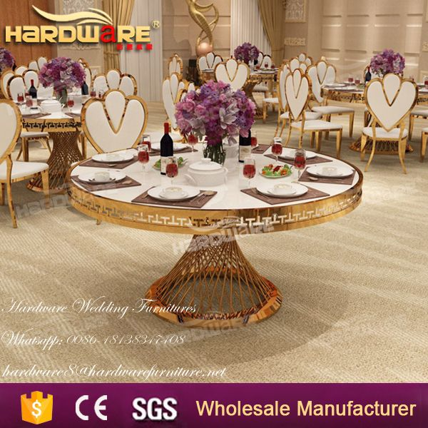 glossy white mdf top chep wedding banquet table wholesale price