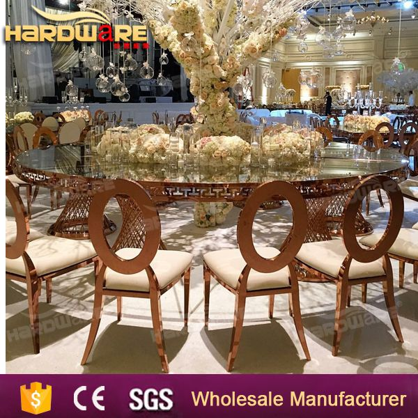 8 seaters black miorrred glass dining tables for weddings
