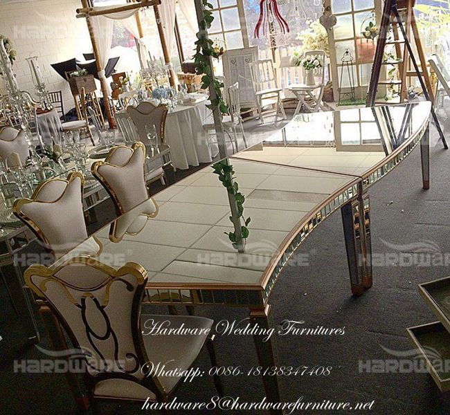 glass banquet table,hardware