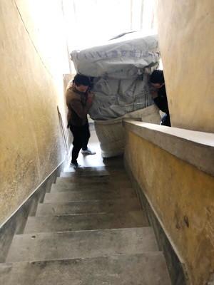 大件上楼梯