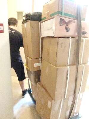 物品打包搬迁