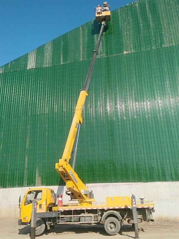 高空车厂房维修作业