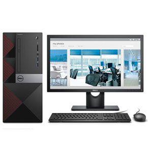 戴尔成就3667-R2828B商用台式电脑整机