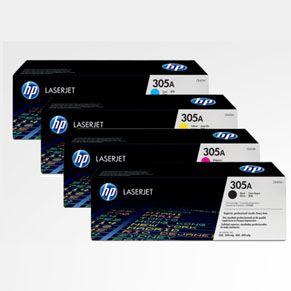 惠普HP 305A激光打印硒鼓套装