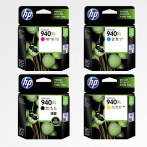 惠普HP 940XL 大容量墨盒全套