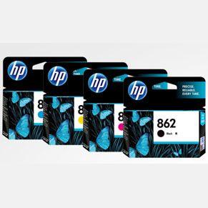 惠普HP 862 号墨盒全套