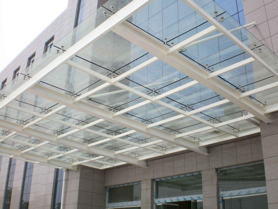 玻璃顶棚安装