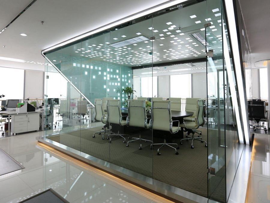 会议室玻璃隔断