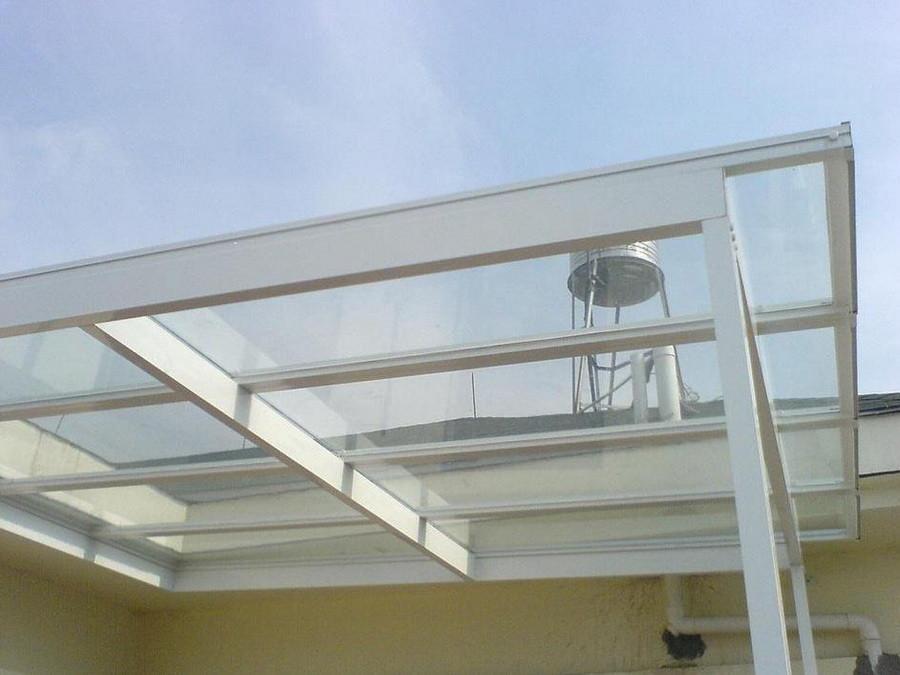 玻璃雨棚安装定制