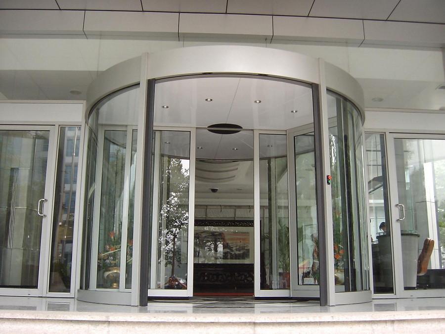 感应玻璃门安装定制