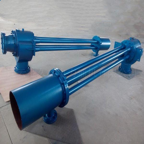 低耗高效多通道射水抽气器