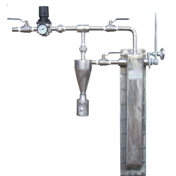 隱臂式固定煤粉取樣裝置