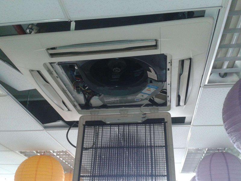 天花空调保养