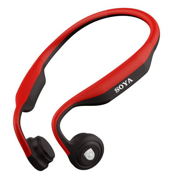 ES-368 Red Bone Conduction Headphone
