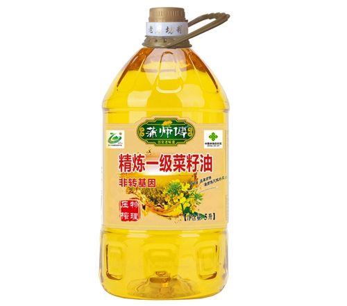 精炼一级菜籽油新5L