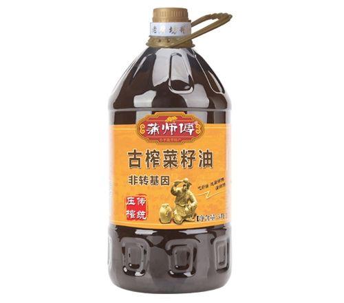 古榨菜籽油5L