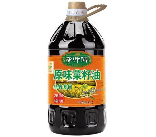 原味菜籽油5L