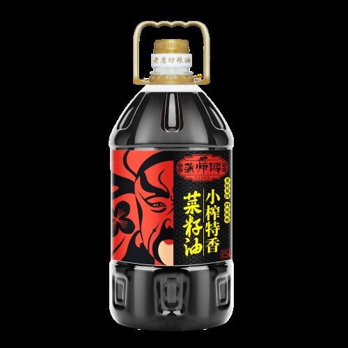 小榨特香菜籽油(生)5L