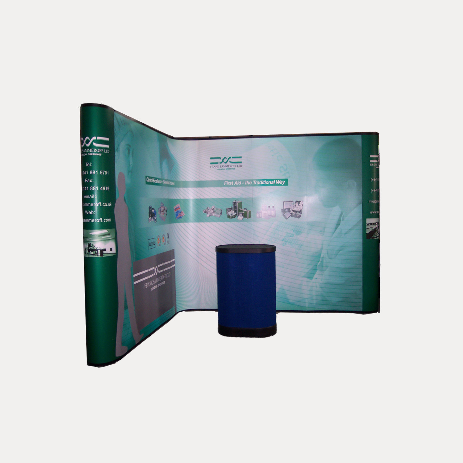 TW-L022  Pop Up Stand