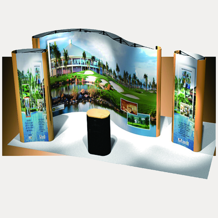 TW-L018  Pop Up Stand