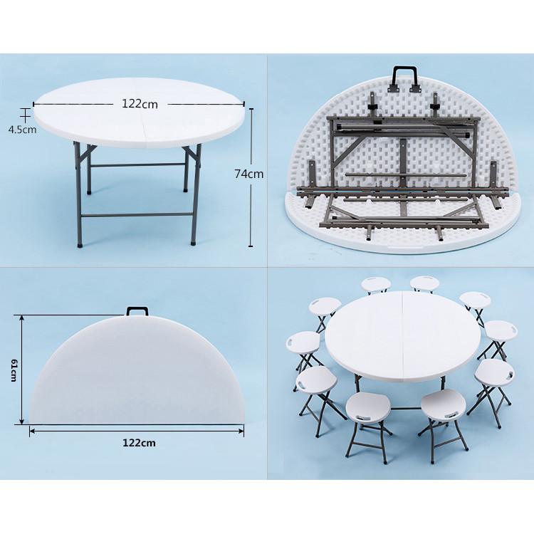 TW-122ZY/152ZY/168ZY/180ZY Folding Table